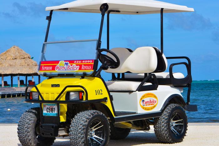 4-Seater Golf Cart