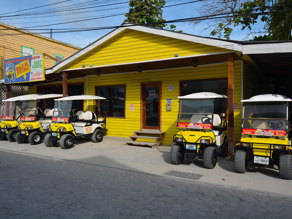 Contact Carts Belize